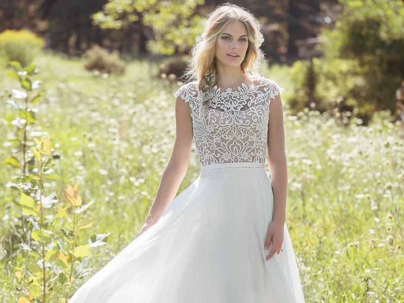 26ea7278db 30 Vestidos para noivas com pouco busto