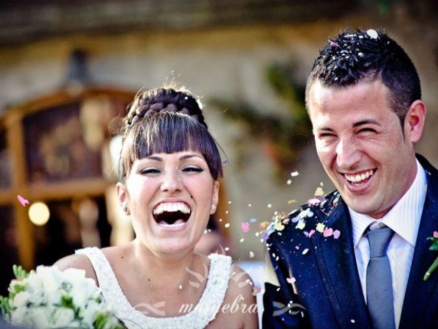 Noelia e David, um casamento inesquecivel