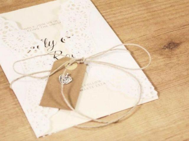 Papelaria nupcial DIY: Crie seus próprios convites de casamento!