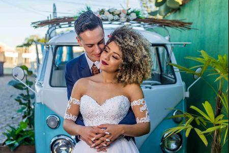 Penteados para noivas com cabelo crespo: 60 imagens para te inspirar