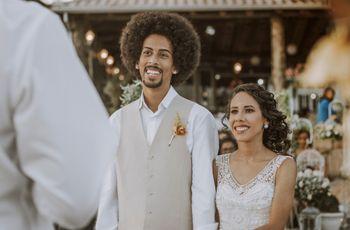 Penteados masculinos: 6 opções para noivos com cabelo crespo