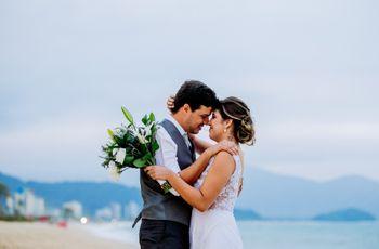 O casamento de Natane e Leonardo: as coincidências do amor