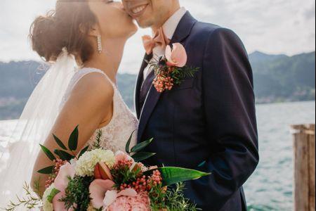 5 Razões para combinar o buquê com o boutonnière do noivo