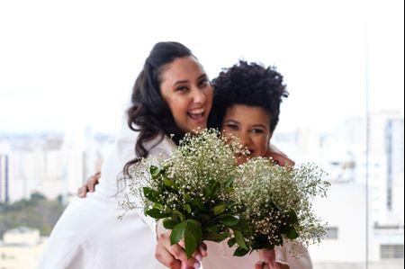 O casamento de Camila e Patrícia: o amor acontece naturalmente