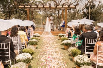 Os prós e os contras do casamento no campo