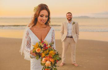 Complementos para uma noiva de verão