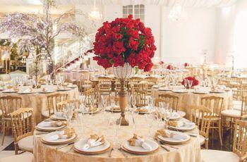 Cores ideais para um casamento no Natal