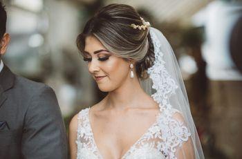 Penteados ideais para noivas com o cabelo liso