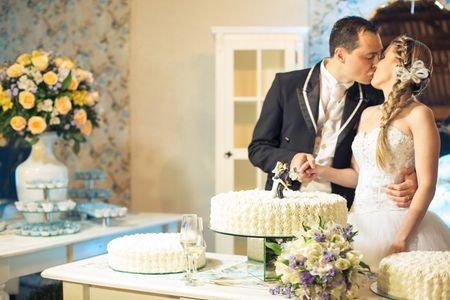 Gaste pouco com o bolo de casamento