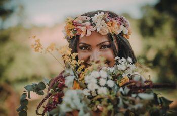 Teste: Qual acessório de cabelo combina com o seu look de noiva?
