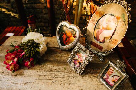 Decore o seu casamento com fotos