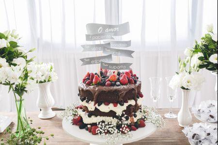 100 Fotos de bolos de casamento incríveis para te inspirar