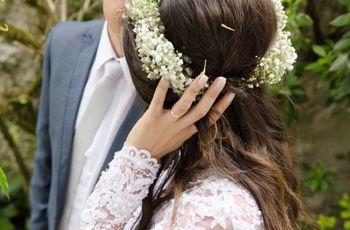 Penteados fáceis para casamento