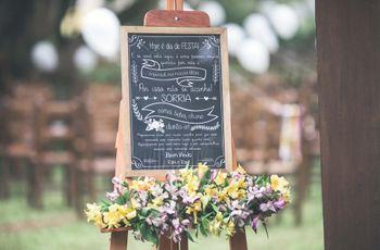 As 32 melhores ideias de decoração rústica para casamento