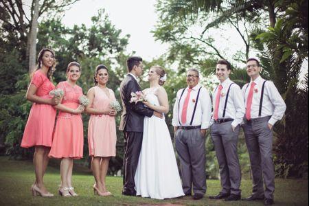 Diferença entre padrinhos e testemunhas em um casamento religioso