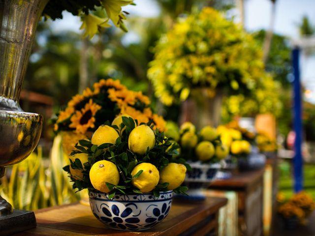 Casamentos decorados com frutas: ideias originais e criativas
