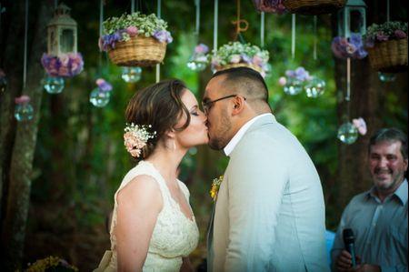 Conto de fadas: o casamento de �caro e Ana Luiza
