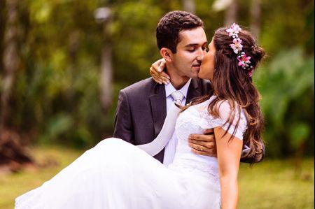 Casamento de noivos de cidades diferentes