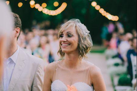 Penteados de casamento para cabelos curtos