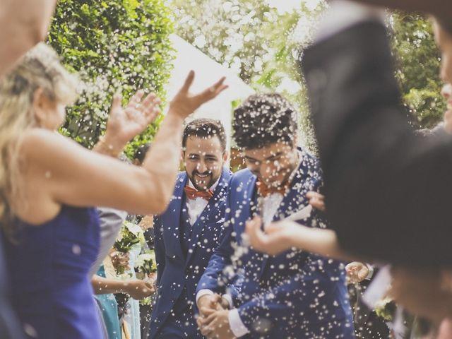 Casamento de Marcos e Rodrigo: amor e simplicidade em um ambiente familiar