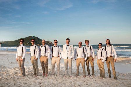 As 8 funções mais importantes dos padrinhos do noivo