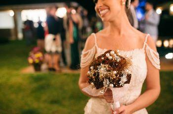 Buquê de noiva artificial: 22 ideias que te surpreenderão!