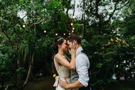 Detalhes para um casamento muito rom�ntico