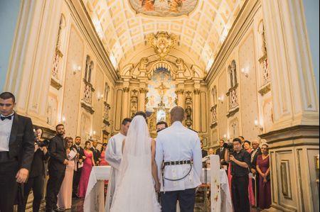 Roteiro da cerimônia religiosa católica
