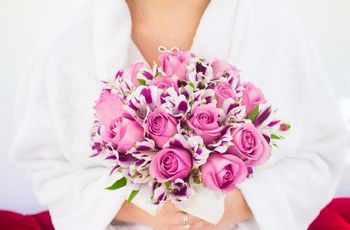 35 buquês de noiva rosas: romantismo com personalidade