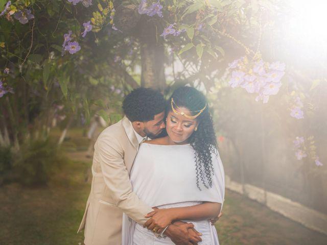 O casamento de André e Cinthia: cerimônia única em um entorno natural inesquecível