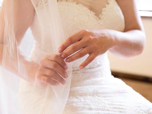 A última prova do vestido de noiva