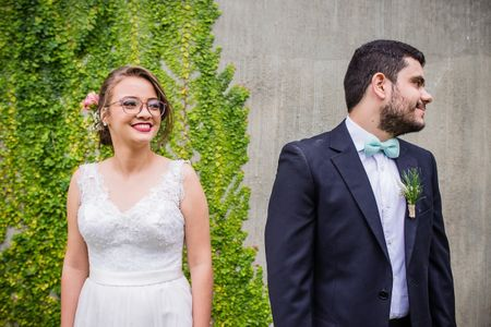 Noivas de óculos: dicas para unir conforto e beleza