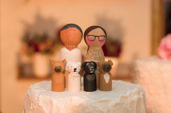 45 Noivinhos para o topo do bolo de casamento