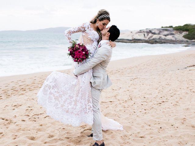 O Casamento de Carlos e Vanessa: um amor escrito pelo destino e celebrado nas areia de Itapema (SC)