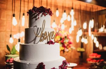 30 Bolos decorados para casamento