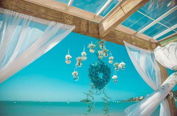 Ideias para um casamento em azul