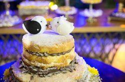 Tend�ncias de bolos de casamento para 2015