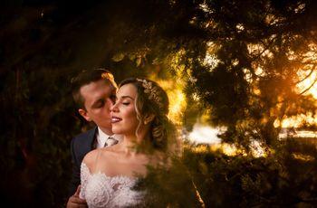 O casamento de Camila e Diego: um dia mágico e azul