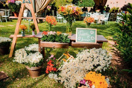 Quais flores você deveria usar segundo o estilo do seu casamento