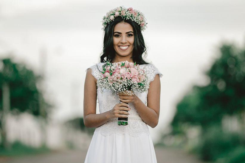 5 Conselhos para usar uma coroa de flores 8a0c478c1a