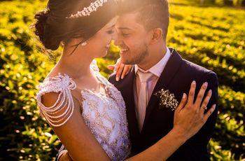 O casamento de Carla e Naldo: um amor que nasceu da fé