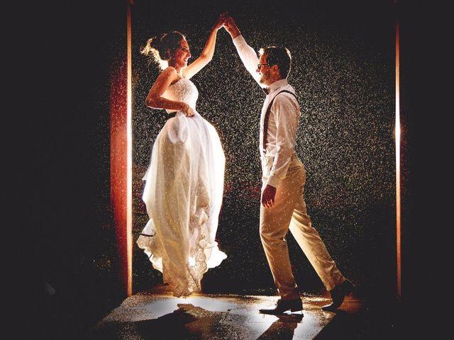 Tiago e Stefani: um casamento onde o amor estava presente em cada detalhe
