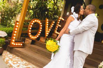 """O casamento de Michael e Jaqueline: um """"sim"""" cheio de energia e dança"""