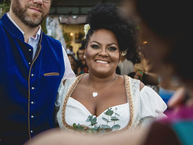 O casamento de Gerald e Daniela: um amor que nasceu entre Brasil e Alemanha