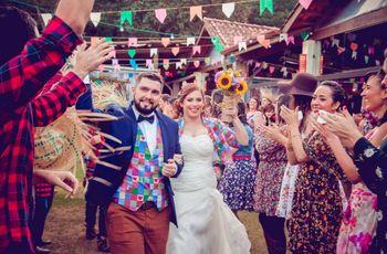 Casamento junino: o dia C como um verdadeiro arraial!