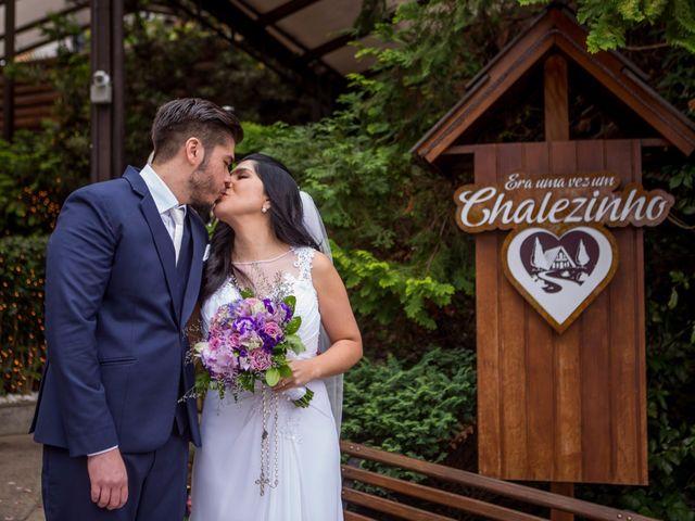 O casamento de Danusa e Roberto, apaixonados à primeira vista
