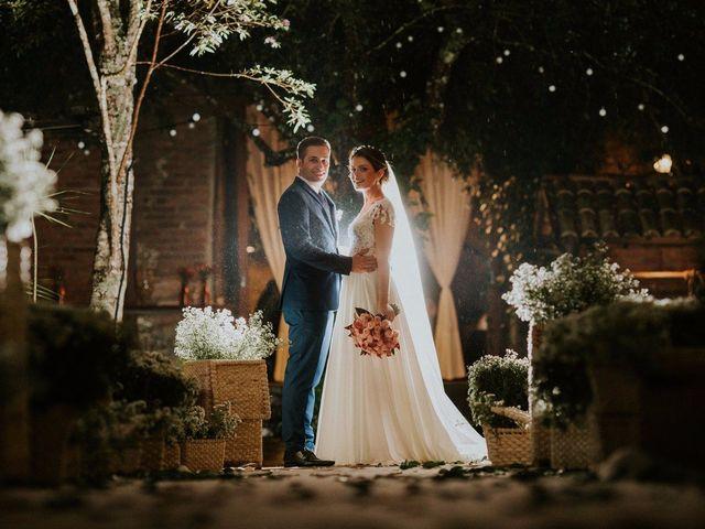 O casamento de Karine e Guilherme: emoção do início ao fim