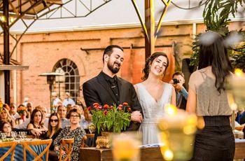 O casamento de Ariadne e Délio: amor e risos à dois