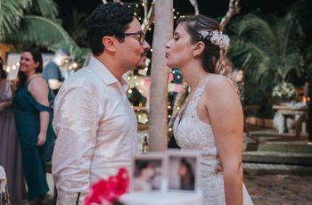 O casamento da Tita e Dede: romântico, alegre e emocionante