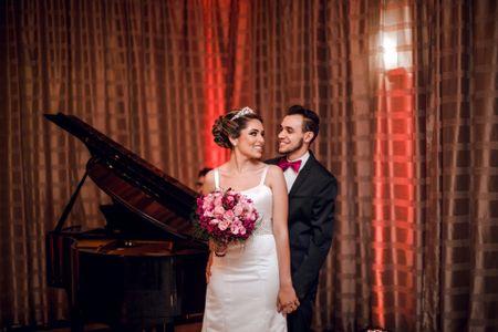 O irreverente casamento de Rodrigo e Kelly